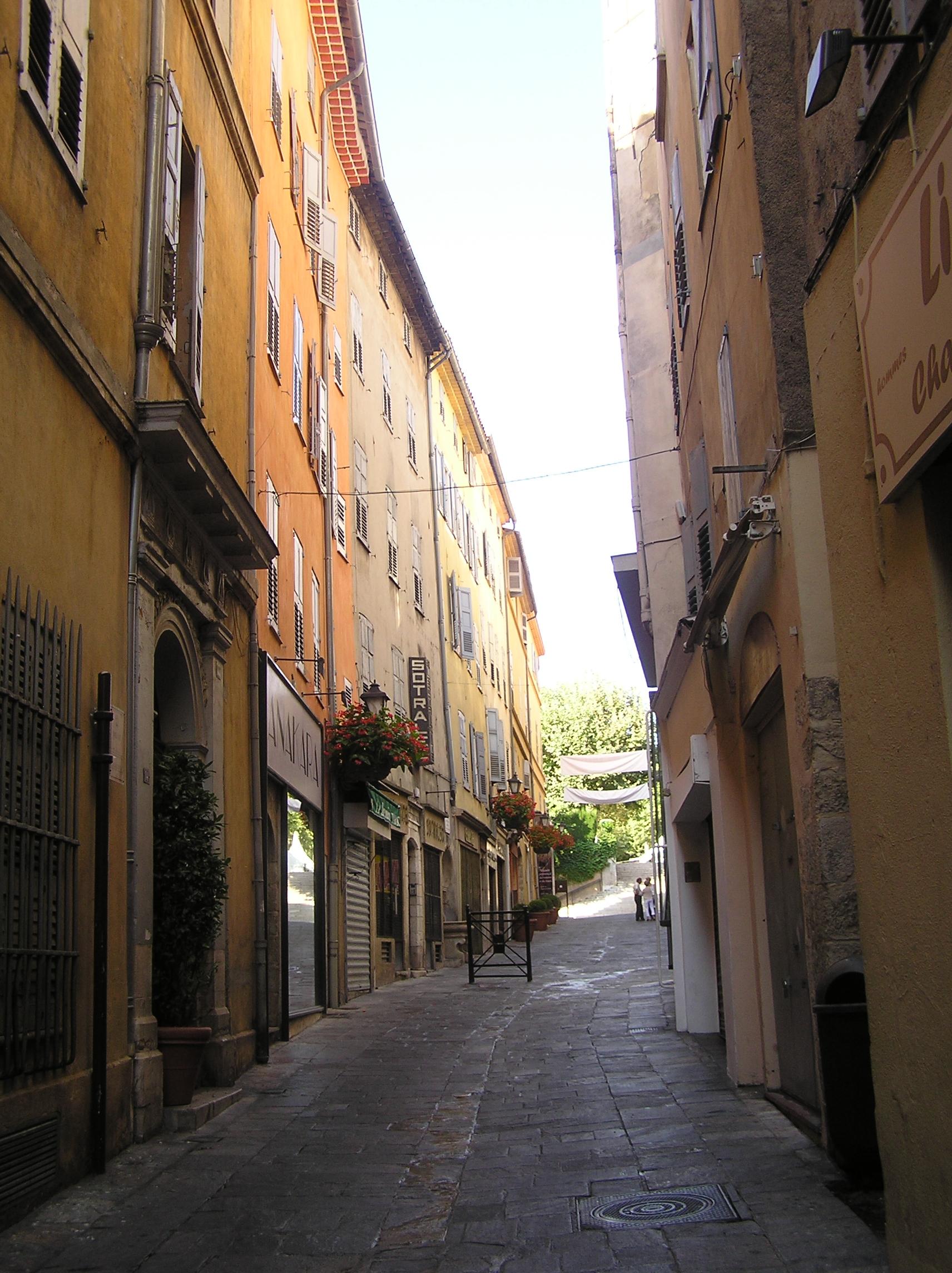 my street inGrasse